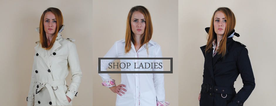 Luxury ladies shirts made in England